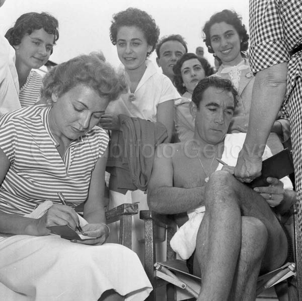NILLA PIZZI E ANTHONY QUINN